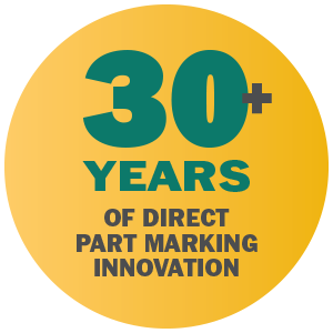 30+ years of direct part marking innovation