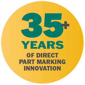 35+ years of direct part marking innovation