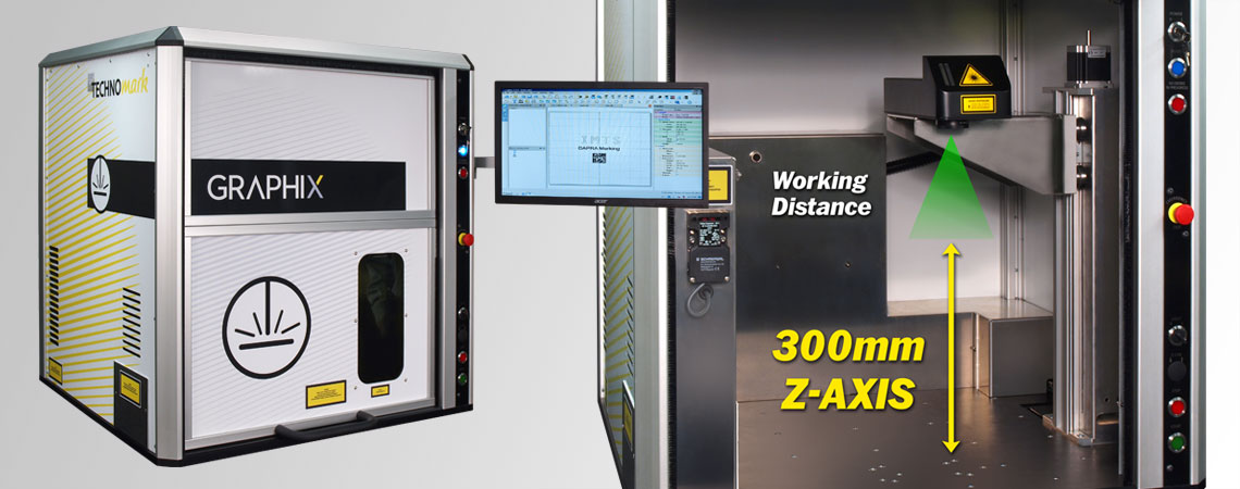 Class 1 Fiber Laser Marking Workstations