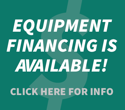 Equipment Financing is Available