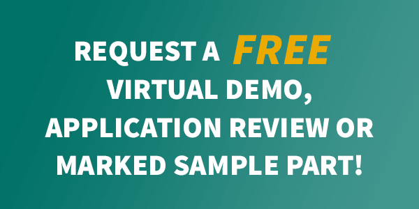 Request a free demo, application review or marked sample
