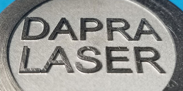 Creating Raised Marks with a Fiber Laser Marker