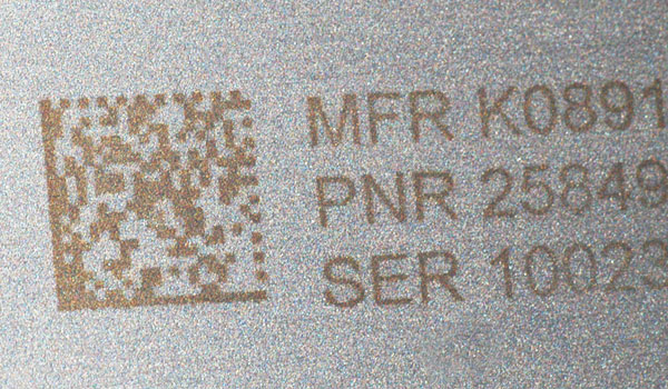 Digital electrochemical etch marking