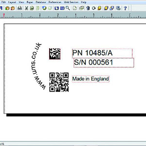 Electrochemical Marking Stencil Design Software