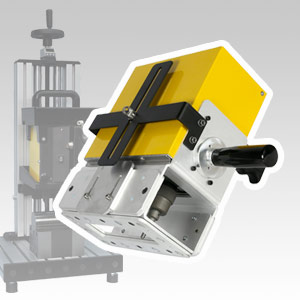Portable system for deep part marking
