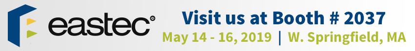 Visit us at EASTEC 2019