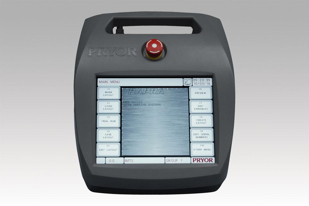 Pryor 4000 series industrial-grade, touch-screen controller