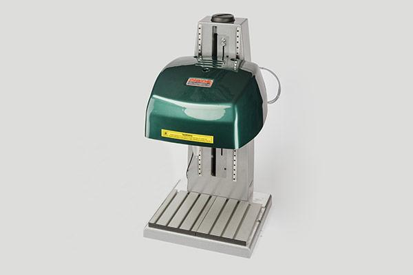 Bench-mounted scribe part marking system