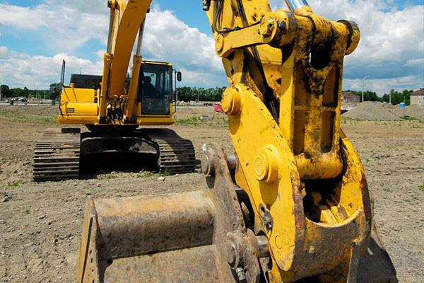 Marking construction, agriculture and heavy machinery components
