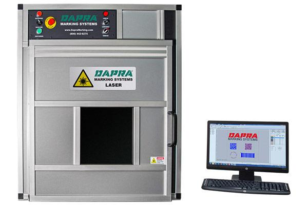 Dapra 400i series fiber laser part marking workstation