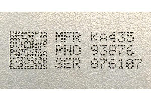 Data matrix code marking