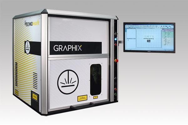 Class 1, 4-axis fiber laser part marking workstation