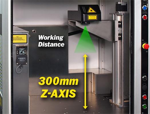 4-axis laser part marking workstation