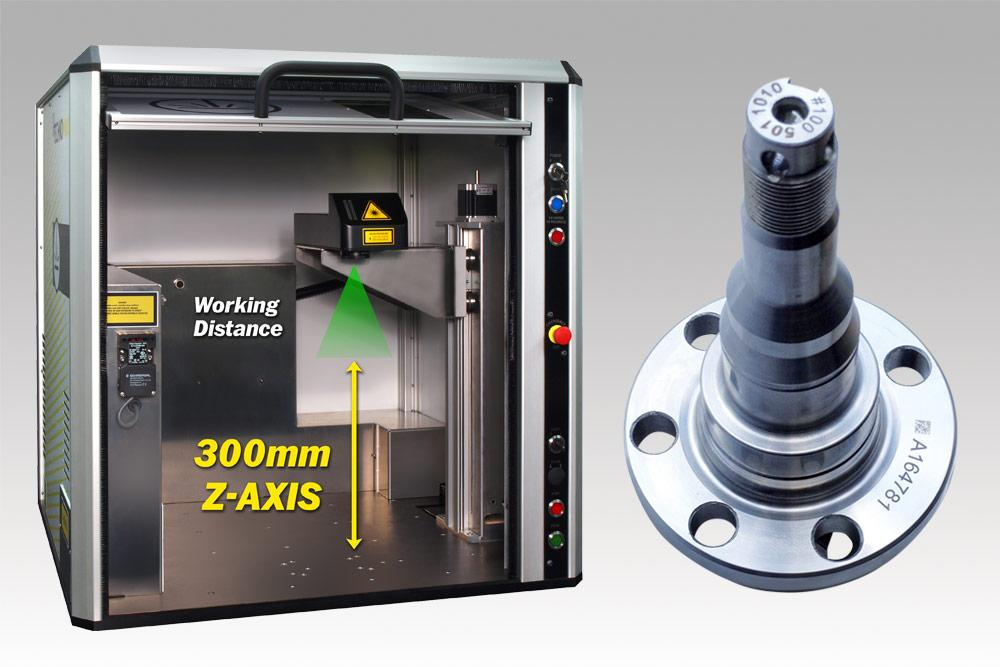 300mm programmable electric Z-axis - mark at multiple heights / locations