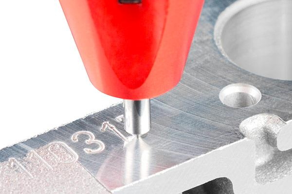 Machine shop part marking systems