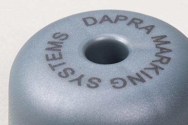 Mark plastic parts