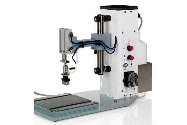 Compact Air Jig for semi-automatic batch marking
