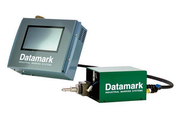 MP-50 Integrated pneumatic dot peen marker with touchscreen controller