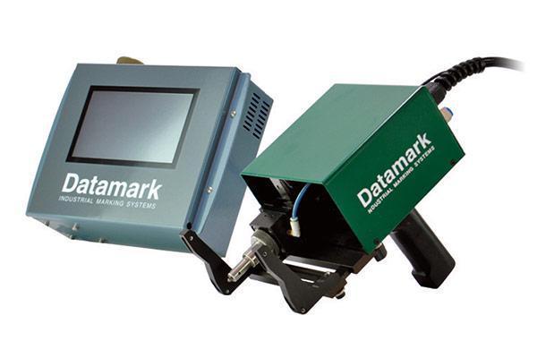 MP-80 Portable pneumatic dot peen marker with touchscreen controller