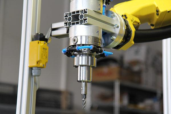 Deburring and finishing systems for robot machining