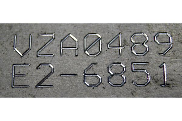 Continuous-line part marking