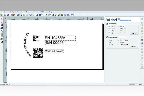 EnLabel software for creating electrochemical marking stencils